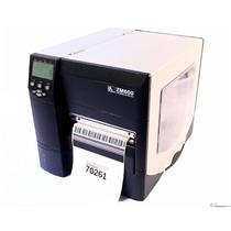 ZEBRA ZM600 ZM600-2001-0000T THERMAL BARCODE LABEL PRINTER (USB/PARALLEL) 203DPI