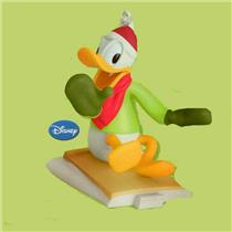 Hallmark Keepsake Ornament 2012 Cool Duck Donald - Ready Set Snow - #QRP5914