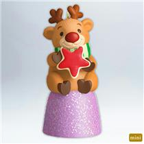 Hallmark Miniature Ornament 2012 Deer-ly Loved Cookie - #QXM9031-SDB