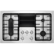 "NIB Frigidaire RC36DG60PS 36"" 4 Burner Built In 500 CFM Downdraft Gas Cooktop"