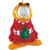 Carlton Ornament 2016 Garfield in Oversized Christmas Sweater - #CXOR030K