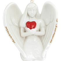 Carlton Heirloom Ornament 2016 Guardian Angel - Porcelain - #CXOR013K