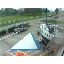 R F Jib w  luff 32-8 Foot 15-1 from Boaters' Resale Shop of Tx  1603 1454.92
