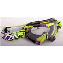 Arnette Mini Series MX Fragmented Green/Purple W/ Clear