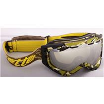 Arnette Mercenary Camo Yellow W/ Honey Chrome Goggles