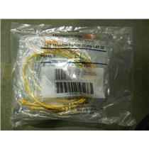 (BAG OF 5) HELLERMANNTYTON 3FT YELLOW PATCH CORD-CAT.5E PCYEL3