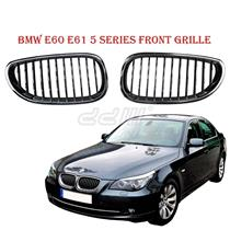 1 Pair Front Chrome Kidney Grills Fit For BMW E60 E61 M5 LCi 5 Series 03'-09'