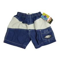 6 NWT MP Metropolitan Prairie LITTLE BRUISER Blue White Swimsuit Trunk Shorts