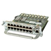 Cisco NM-16ESW-PWR-1GIG 16-port 10/100 EtherSwitch with pre-standard PoE & GE
