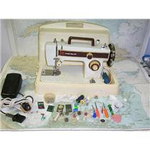 Boaters' Resale Shop of Tx 1604 4101.02 FRISTER STAR 20-220 VOLT SEWING MACHINE