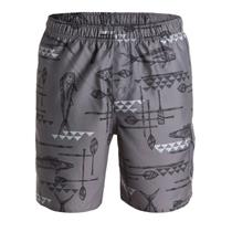 "Quiksilver Waterman Mens West Palm 18"" Volley Boardshorts Grey Large"