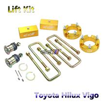 35mm Front 50mm Rear Suspension Lift Kit + Diff Drop Toyota Hilux 05-11 4WD