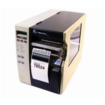 Zebra 140Xi-III Plus 140-7A1-00100 Thermal Barcode Label Printer USB Cutter