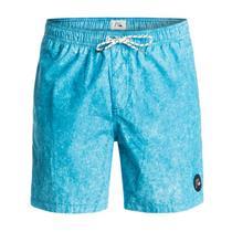 "Quiksilver Men's Acid Print 17"" Volleys Shorts Blue Medium"
