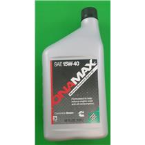 Onan Cummins 326-5336 Generator Factory Oil 1 Quart SAE 15W-40