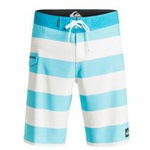 "Quiksilver Men's Everyday Brigg Stretch 21"" Boardshorts Blue/White 32"
