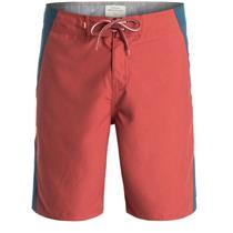 """Quiksilver Men's Rhodin 20"""" Boardshorts Red 34"""