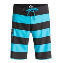 "Quiksilver Men's Everyday Brigg Stretch 21"" Boardshorts Black/Blue 32"