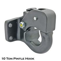 10 Ton Tow Pintle Hook Rigid Type Towing Hook Hitch Towing 4WD Truck Trailer