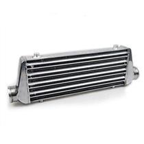 "17.7""x12""x3"" Aluminum Plate Front Mount Intercooler 450x300x76 Inlet Outlet 3"""