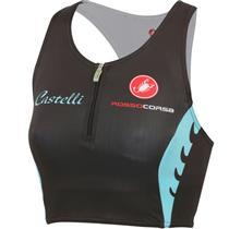 Castelli Body Paint Women's Tri Top Black/White/Blue Small