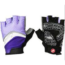 Castelli Women's Elite Gel Glove Black/Purple/White Small