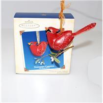 Hallmark Ornament 2005 Beauty of Birds #1 - Northern Cardinal - #QX2135-SDBNMC