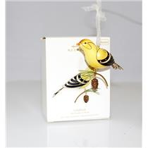 Hallmark Series Ornament 2008 Beauty of Birds #4 - Goldfinch - #QX7134-DBWCT READ DESCRIPTION