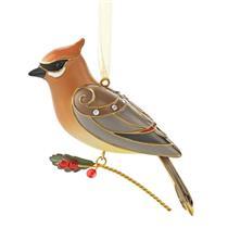 Hallmark Series Ornament 2013 Beauty of Birds #9 - Cedar Waxwing - #QX9102
