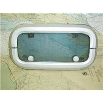 Boaters' Resale Shop of TX 1605 2727.04 LEWMAR TINTED OPENING PORT WITH TRIM