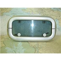 Boaters' Resale Shop of TX 1605 2727.07 LEWMAR TINTED OPENING PORT WITH TRIM