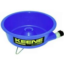 Keene Engineering GCB Gold Concentrating Bowl- Gold in Black Sands Cleaning
