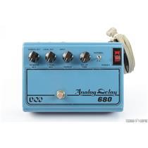 1979 DOD 680 Analog Delay Guitar Effects Pedal V1 Script w/ RETICON R5101 #25882