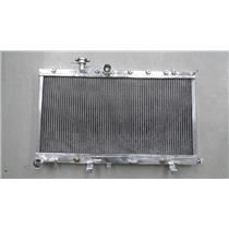 2~Rows Aluminium Racing RadiatoR FOR Subaru Impreza Wrx STi GDB Ej20 Turbo 01-07