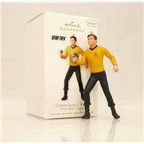 Hallmark Ornament 2010 Star Trek Legends #1 - Captain James T Kirk - #QX8373-DB