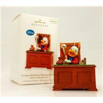 Hallmark Series Ornament 2010 Mickey's Christmas Carol #2 Scrooge McDuck #QX8406