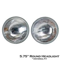 "5.75"" 5 3/4 inch Round HeadLight Universal Toyota KE70 DX Nissan Y10 Datsun 510"