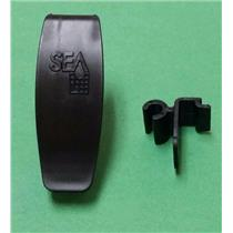 Fleetwood RV 530I54963A Shower Door Latch Cascade 3120 3121 Door Black