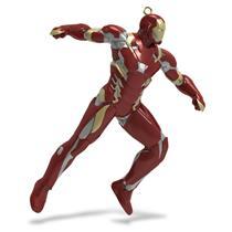 Hallmark Ornament 2016 Team Iron Man - Captain America: Civil War - #QXI3454
