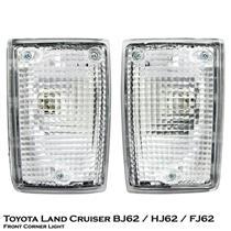 1 Pair Left + Right Front Corner Light Toyota Land Cruiser BJ62 HJ62 FJ62 88-89