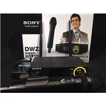 Sony DWZ-M70 Digital Handheld Wireless Microphone System MORE FEATURES > DWZM50