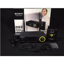 Sony DWZ-B70HL Digital Wireless Headset & Lapel Microphone Body Pack Package