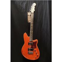 Reverend Guitars Descent HC Baritone Guitar Rock Orange Wilkinson Tremolo #4934