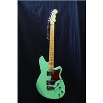 Reverend Guitars Descent HC Baritone Guitar Oceanside Green Wilkinson #4933