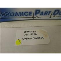 AMANA DISHWASHER R9800211 14205486 SPRING LINKAGE USED