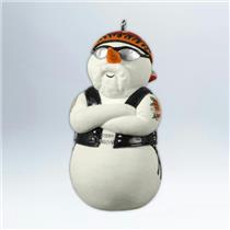 Hallmark Keepsake Ornament 2012 Snowy Rider - Harley Davidson - #QXI2084