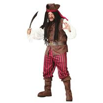 Fun World Men's Plus Size High Seas Buccaneer Pirate Costume up to 300 lbs.