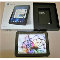 "9.7"" HP TouchPad 16GB 1.2GHz Dual Boot WebOS Android CyanogenMod FB454UT Tablet"
