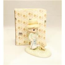 Precious Moments Figurine We Need a Good Friend Through the Ruff Times - #520810
