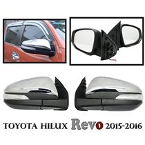 Toyota Hilux SR5 Revo Electric Wing Door Mirror Side Indicator Chrome 2015-2016